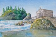 Sepulchre Paintings - A Kingdom By The Sea by Gale Cochran-Smith