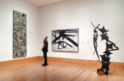 Frank Winters - A Kline A Pollock and A Sculpture