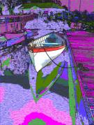 Rowboat Digital Art Posters - A Lakeside Wonderful Poster by Tim Allen