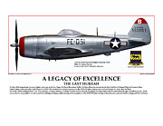 Fighter-bomber Framed Prints - A Legacy Of Excellence Framed Print by Jerry Taliaferro