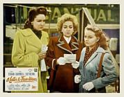 Posth Posters - A Letter To Three Wives, Linda Darnell Poster by Everett