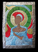 Found Art Sculpture Metal Prints - A Light of Hope Metal Print by Tina Clarke