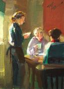 Dining Paintings - A Light Order by Fredric Michael Wood