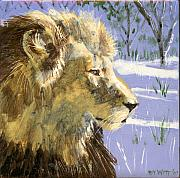 Featured Ceramics - A Lion in Winter by Dy Witt