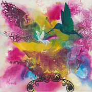 Colourfull Originals - A Little Bird Told Me by Miranda Gerber