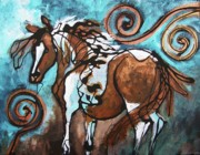 Pinto Paintings - A Little Bit of Sangria Anyone by Jonelle T McCoy