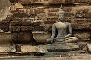 Travel Photography Prints - A Little Buddha Print by Bob Christopher