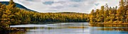 Panoramic Framed Prints - A Little Piece of Maine Framed Print by Bob Orsillo