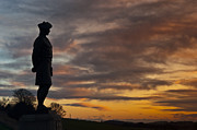 Black Angus Photo Posters - A lone Scottish Soldier 2 Poster by Derek Whitton