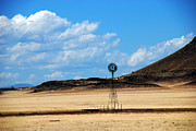 Job - Barber Art - A Lonely Job Windmill New Mexico by Susanne Van Hulst
