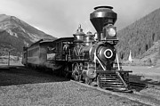 Steam Engine Photos - A look of the Past by Ken Smith