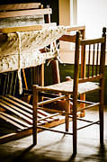Textile Photographs Photos - A Loom For Grandma by Carolyn Marshall