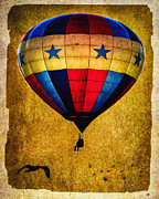 Hot Air Balloon Prints - A Man and his balloon Print by Bob Orsillo