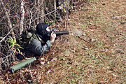 Hiding Photos - A Marksman Observer Relays Intelligence by Stocktrek Images