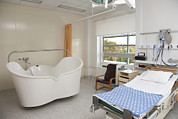 Furnishing Framed Prints - A Maternity Unit In Hospital Framed Print by Jaak Nilson