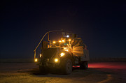 Mrap Photos - A Maxxpro Mrap Vehicle With Running by Terry Moore
