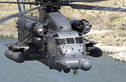 Rotary Wing Aircraft Photo Posters - A Mh-53j Pave Low Iiie Heavy-lift Poster by Stocktrek Images