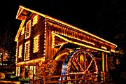 Grist Photos - A Mill in Lights by DJ Florek