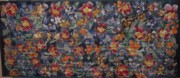Mixed Tapestries - Textiles Posters - A Mixed Bunch  Poster by Charles Walker