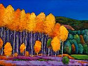 Aspen Paintings - A Moment in Time by Johnathan Harris