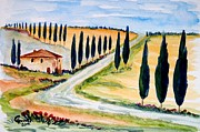 Christine Huwer - A moment in Tuscany