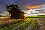 Barns North Carolina Prints - A Moment Like This Print by Debra and Dave Vanderlaan