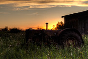Tractor Photos - A Moment of History by Matt Dobson