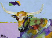 Longhorn Originals - A Moment of Rest by Tracy Miller