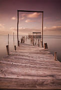 Pier Prints - A moment of silence Print by Jorge Maia