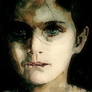 Child Portrait Prints - A Moments Thought For Those Who have Not Print by Paul Lovering