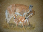 Golds Prints - A Mothers Love Print by Gloria Hager