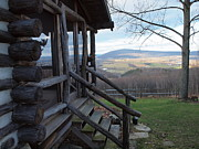 Log Cabins Photographs Photos - A Mountain View by Robert Margetts