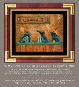 Crow Originals - A Murder Of Blind Crows At Beggers Inn... by Will Bullas