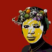 A Murzi Babe Print by Jann Paxton