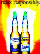 Corona Posters - A must for Manhattan Poster by Funkpix Photo Hunter