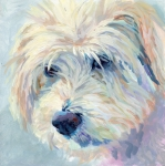 Animal Art Prints - A Natural Blonde Print by Kimberly Santini