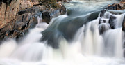 Great Falls Park Posters - A Natural Flow Poster by JC Findley