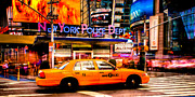 Nypd Prints - A New York Minute Print by David Hahn