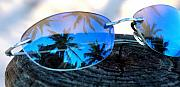 Sunglasses Photo Framed Prints - A Nice Dream Framed Print by Susanne Van Hulst