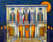 Lisa Lorenz Prints - A Night at the Fenice Print by Lisa  Lorenz