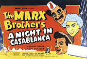 Groucho Marx Art - A Night In Casablanca, From Top by Everett