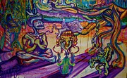 Colorfull Paintings - A Night With The Funk by Ben Christianson