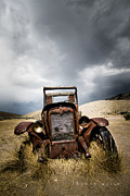 Antique Car Originals - A Old Time Car by Henny Gorin