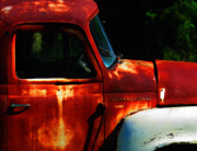 Old Trucks Digital Art - A Painting of Rust  by Steven  Digman