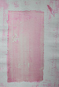 Scroll Mixed Media - A Paler Shade of Pink by Asha Carolyn Young