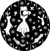 Holding Flower Digital Art Posters - A Paper-cut Design Of A Young Girl Reading A Book Surrounded By Friendly Animals Poster by Yenty Jap