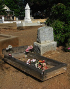 Grave Photos - A Pauper Child by Peter Piatt