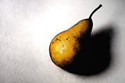 Food Framed Prints - A Pear Alone Framed Print by Dan Holm