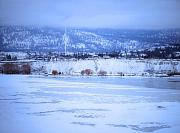 Penticton Prints - A Penticton Winter Print by Tara Turner