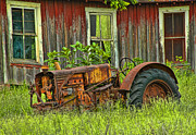Barn Windows Photos - A Piece of Americana by Iris Greenwell